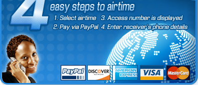 Four easy steps to airtime